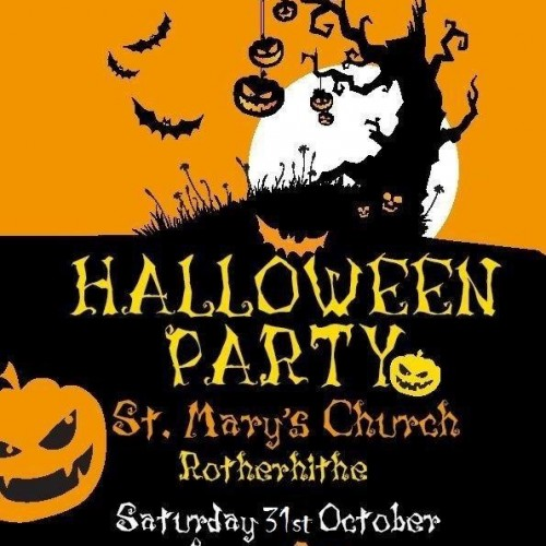 Halloween Party at St. Mary's Church