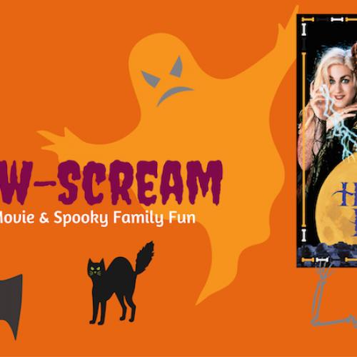 Halloween Family Free Outdoors Cinema