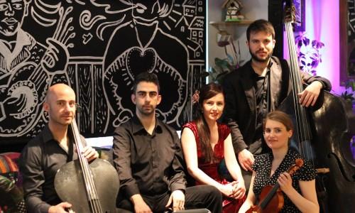 "TunedIn London presents the music of ""Tango Line"""
