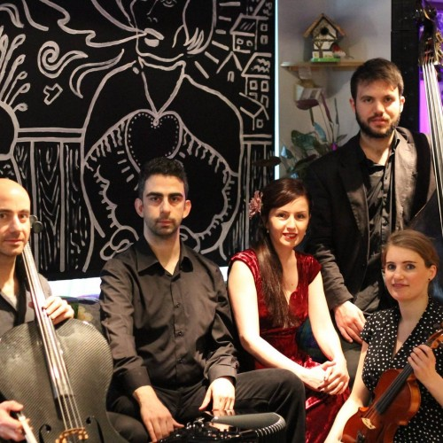 "TunedIn London presents the music of ""Tango Line"""