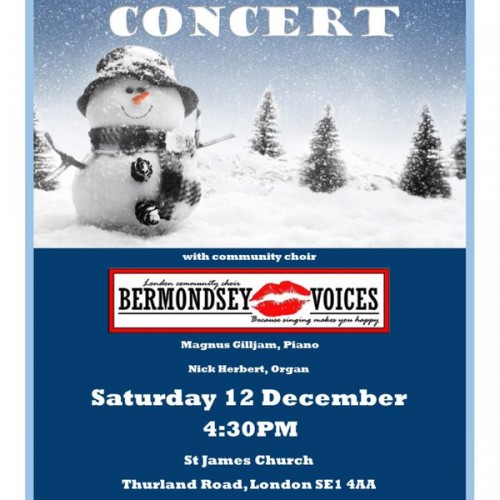 Christmas Concert by Bermondsey Voices