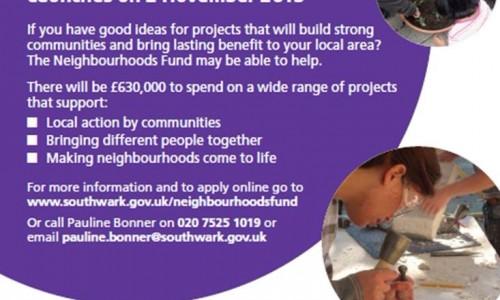Neighbourhoods Fund 2016/17