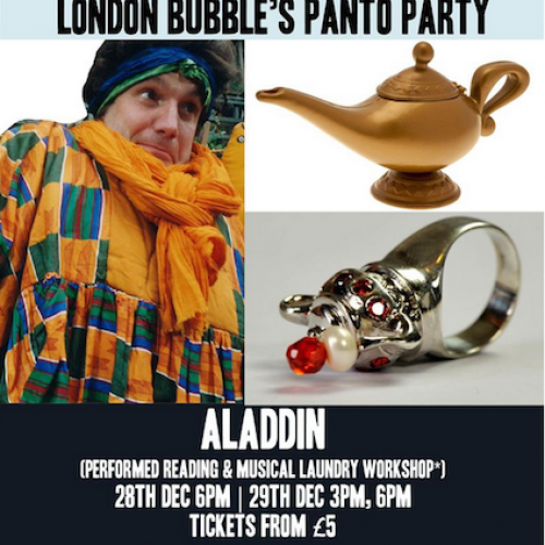 Panto & workshop: Aladdin with London Bubble Theatre