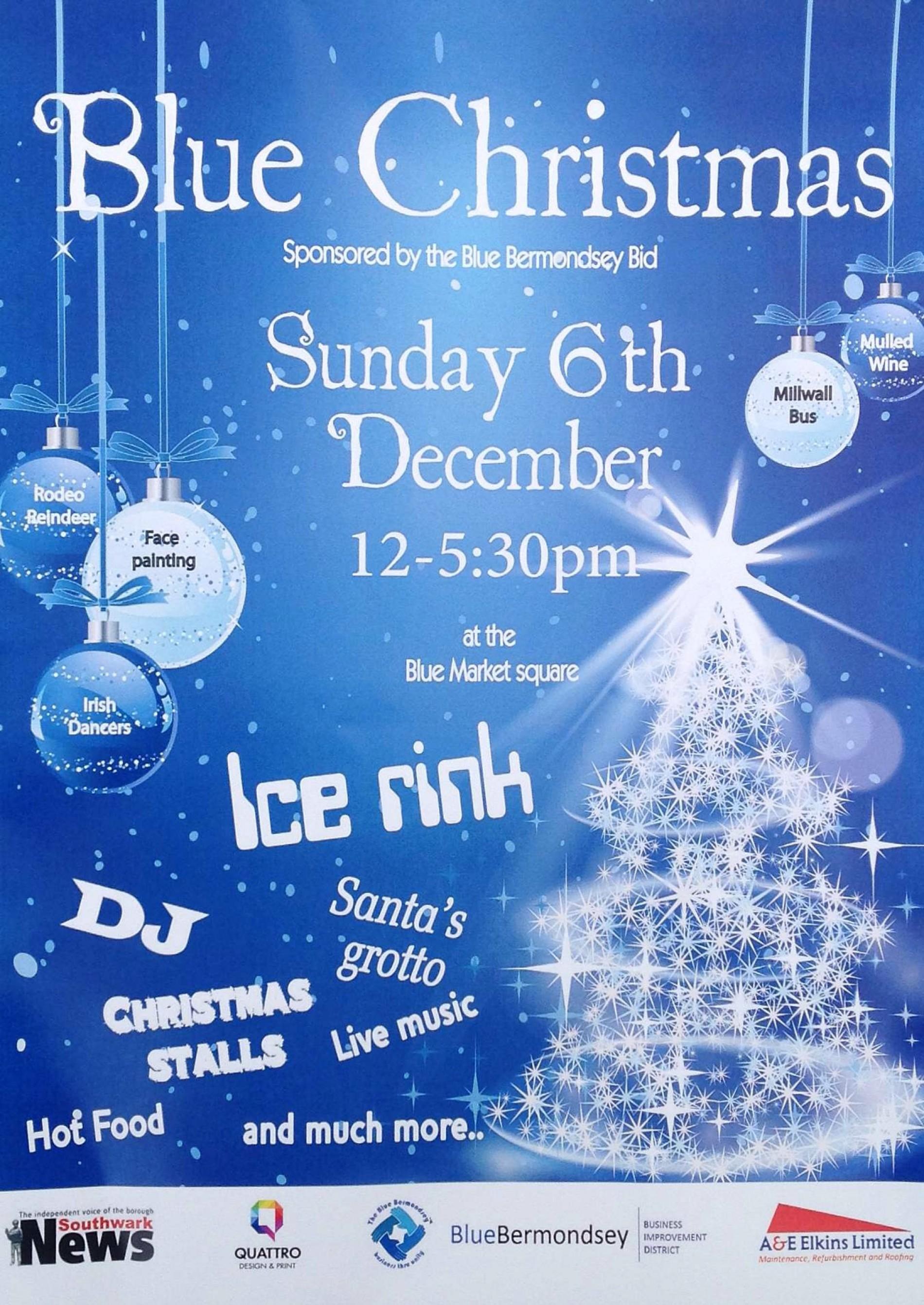 Blue Christmas at The Blue Market6 Dec