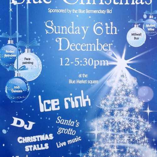 Blue Christmas at The Blue Market 6 Dec