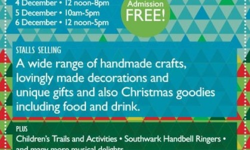 Southwark Cathedral Christmas Market