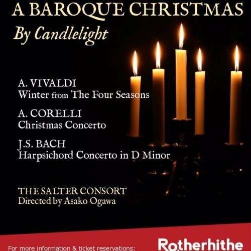 Christmas concert by Candlelight with Rotherhithe Music