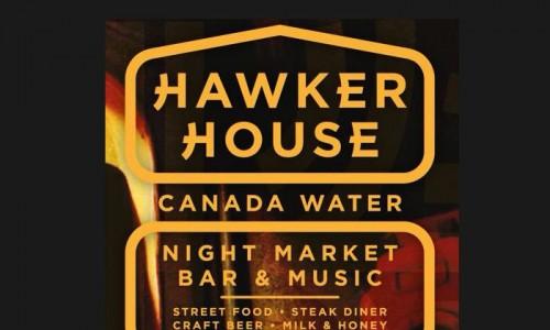 Hawker House Canada Water, indoor food night market