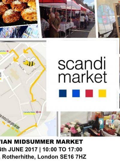 Scandinavian Midsummer Market in Rotherhithe 2017