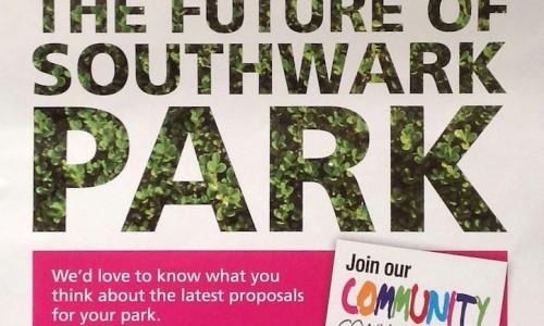 Southwark Park Consultation