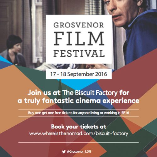 Grosvenor Film Festival Weekend