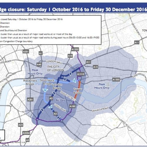 Tower Bridge Closure
