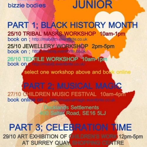 Black History Month- My Arts Beats In London Junior by Bizzie Bodies
