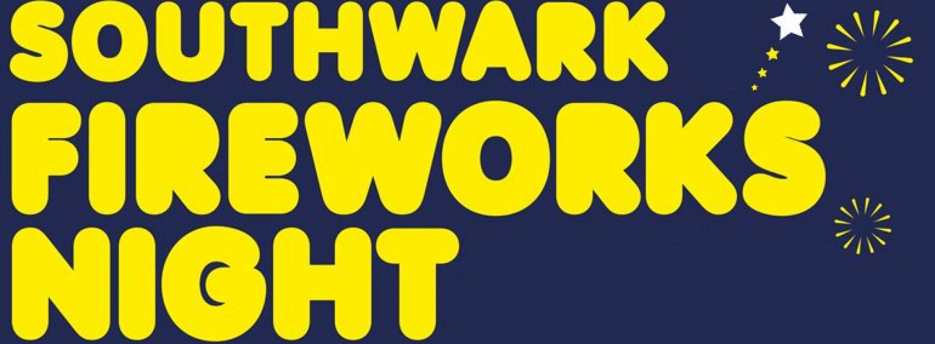 Southwark Fireworks Night 2016