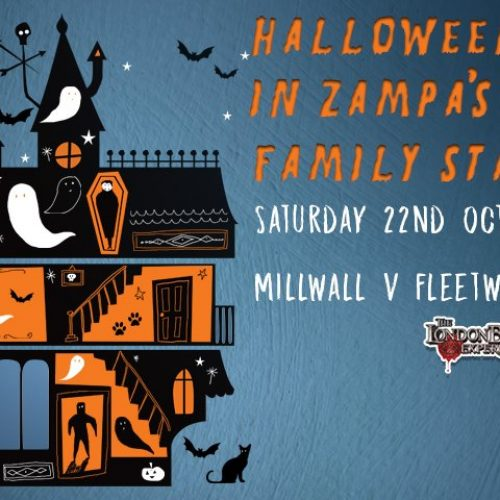 Millwall Halloween in Zampa's Family Stand