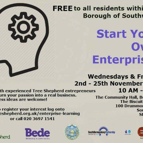 Tree Shepherd course: Start Your Own Enterprise
