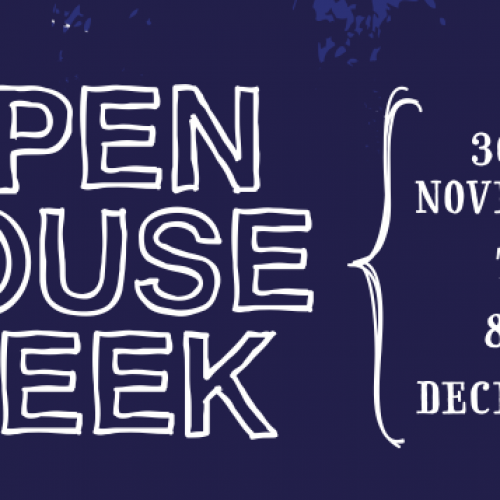 Grosvenor Open House Week  30th Nov-8th Dec