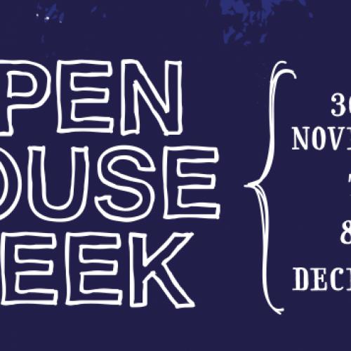 Grosvenor Open House Week  30th Nov-8th Dec