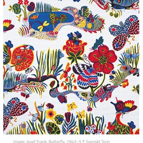 Exhibition – Josef Frank: Patterns–Furniture–Painting