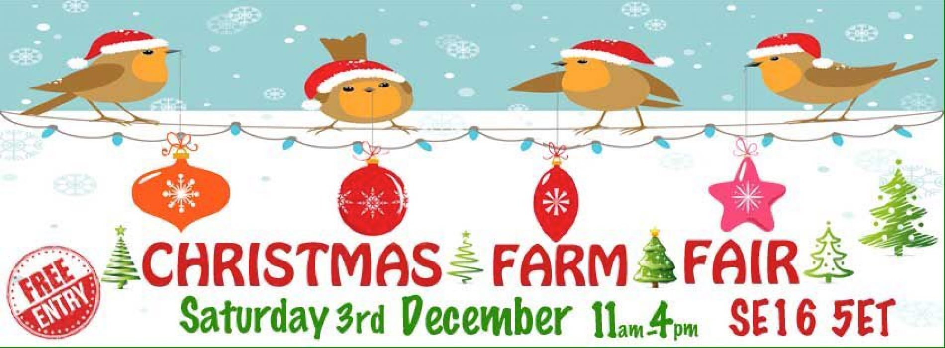 Surrey Docks Farm Christmas Fair 2016