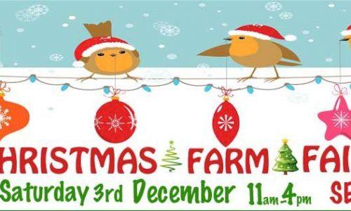 Surrey Docks Farm Christmas Fair 2016