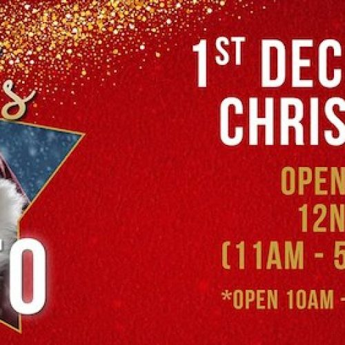 Santa's Grotto at Surrey Quays Shopping Centre