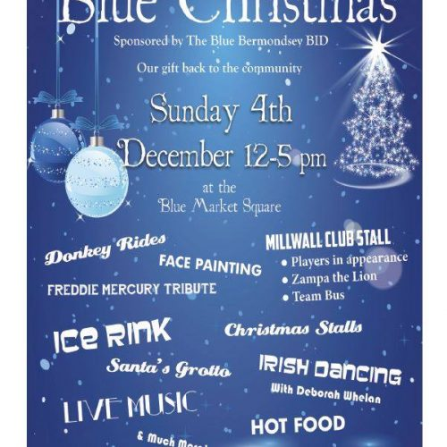 The Blue Bermondsey Blue Christmas 2016