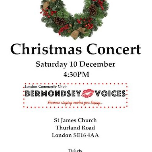 Bermondsey Voices Christmas Concert 2016