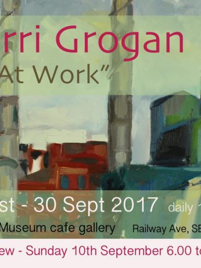 Brunel Cafe Exhibition -At Work by Gerry Grogan