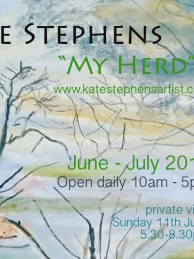 Brunel Cafe Exhibition – My Herd by Kate Stephens