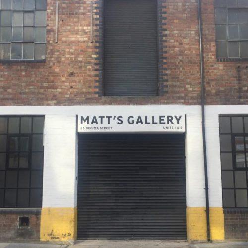 Matt's Gallery presents Ian McKeever: Against Architecture