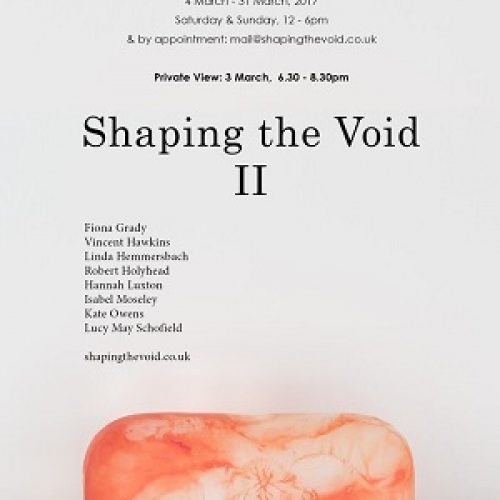 Tannery Arts presents Shaping the Void, II
