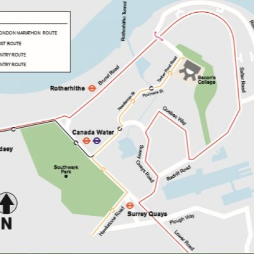 Virgin London Marathon 2017 – Information for Rotherhithe residents