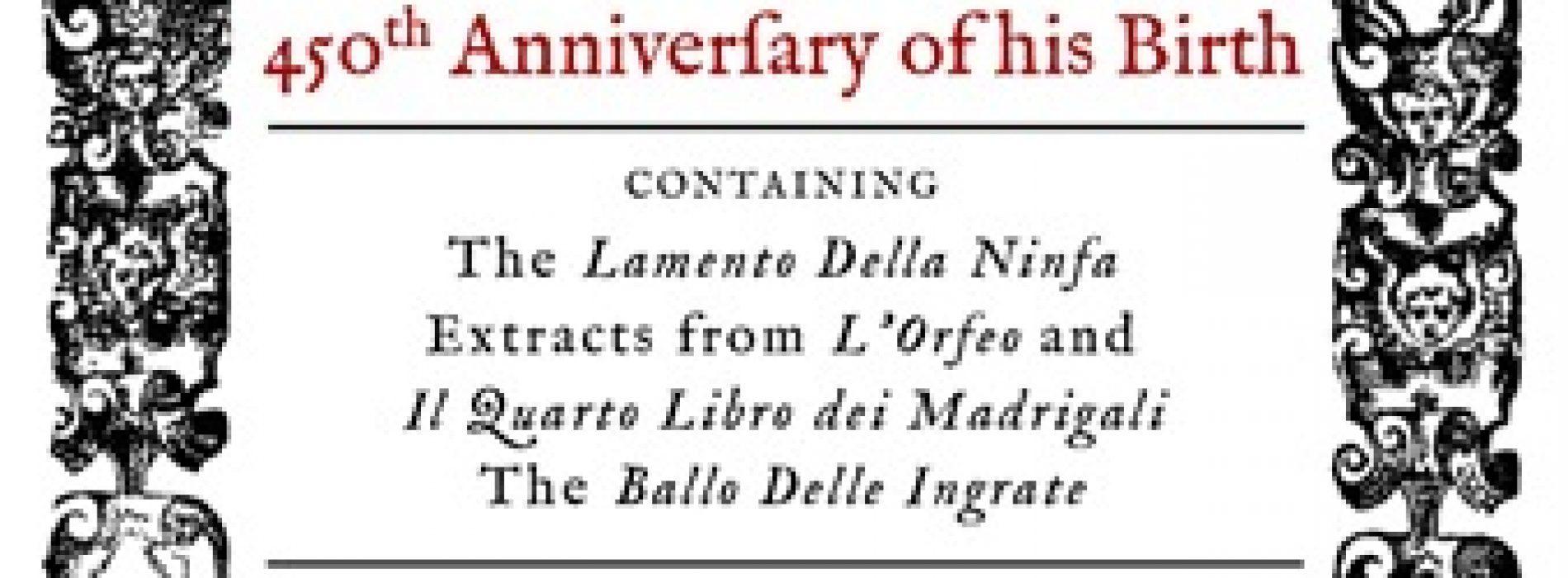 Mvsica Antica presents Monteverdi at 450