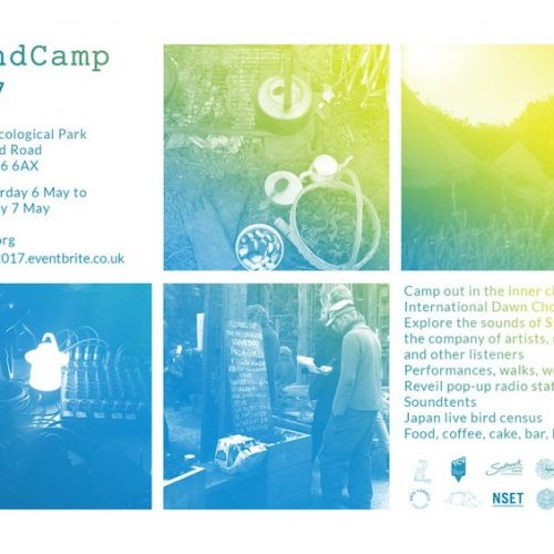 SoundCamp Stave Hill Ecological Park May 2017
