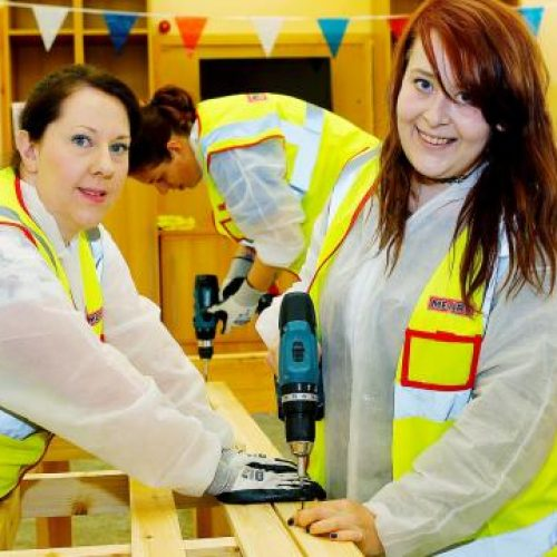 Construction Youth Tradeswomen's Taster Day