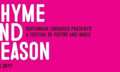 Southwark Libraries Rhyme and Reason 2017