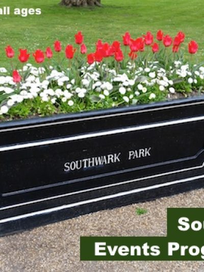 Southwark Park Summer Events Programme 2017