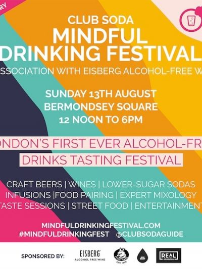 Club Soda Mindful Drinking Festival at Bermondsey Square