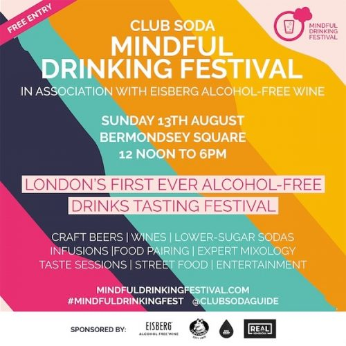 Club Soda Mindful Drinking Festival at Bermondsey Square