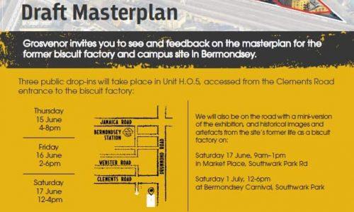 Grosvenor Draft Masterplan Consultation June