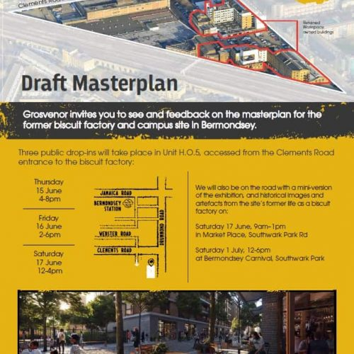 Grosvenor Draft Masterplan Consultation June