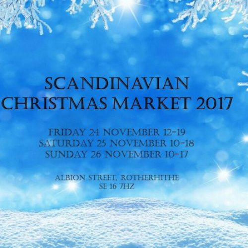 Scandinavian Christmas Market in Rotherhithe 2017