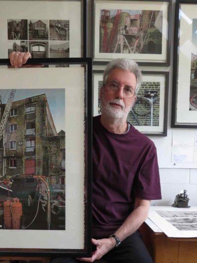 Shortwave Cafe presents Warehouse and Mill, John McGowan Prints