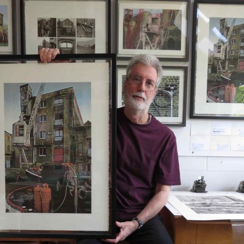 Shortwave Cafe presents Warehouse and Mill, John McGowan Prints
