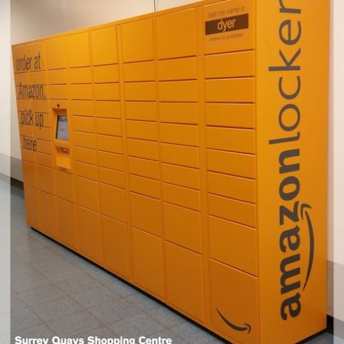 Surrey Quays Shopping Centre Amazon Locker