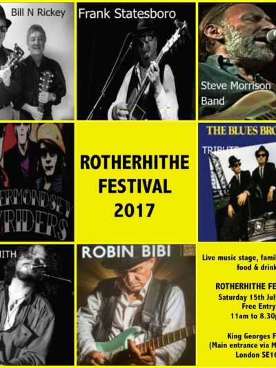 Rotherhithe Festival 2017 Photo Gallery