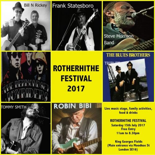 Rotherhithe Festival 2017 at King George's Field