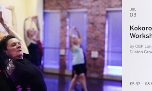 Kokoro Dance Butoh Workshop as part of Nathan Baldock exhibition