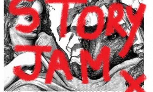 Story Jam, lively monthly night of  stand-up storytelling